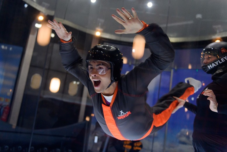 £34 for a 60-minute iFLY indoor skydiving experience and
